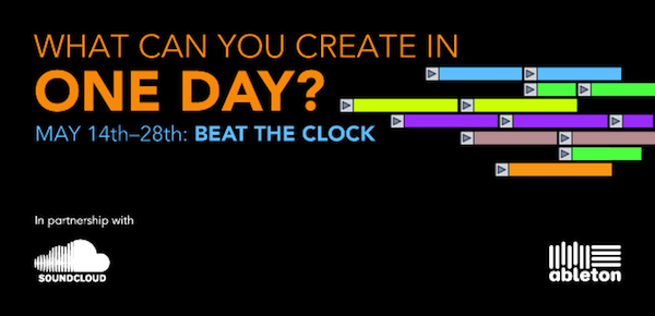 Ableton Beat the Clock remix Competition