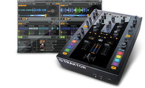 Native Instruments Z2 Mixer and package shot