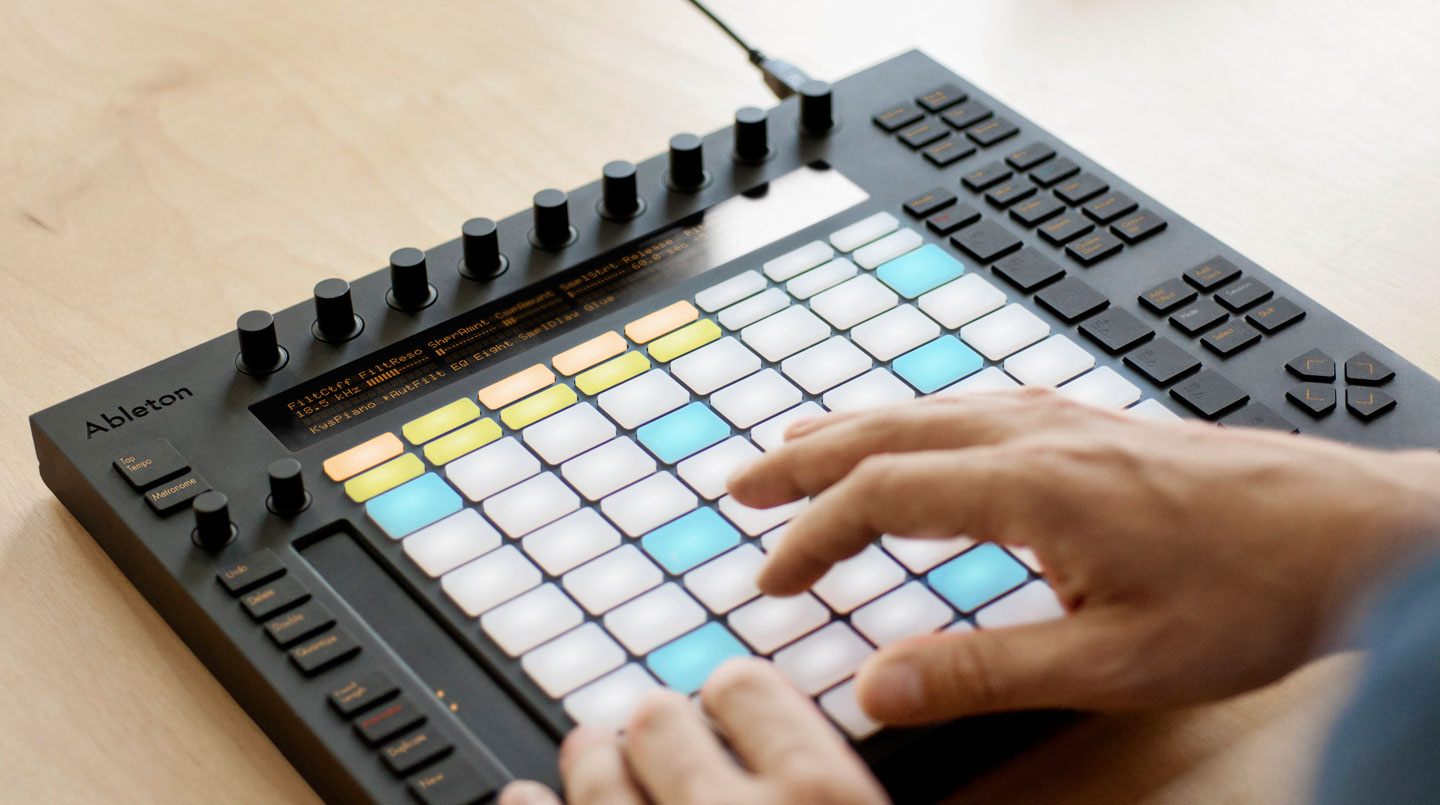Ableton Push use shot