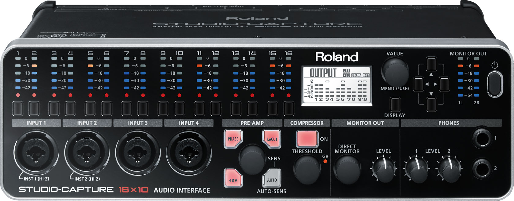 Roland Studio Capture Front