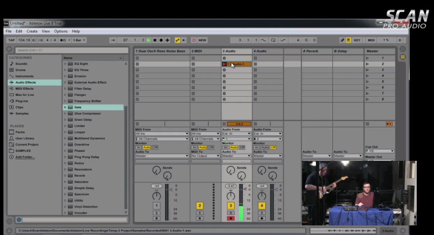 breakdown of ableton live 9 s features suite standard or intro scan pro audio. Black Bedroom Furniture Sets. Home Design Ideas