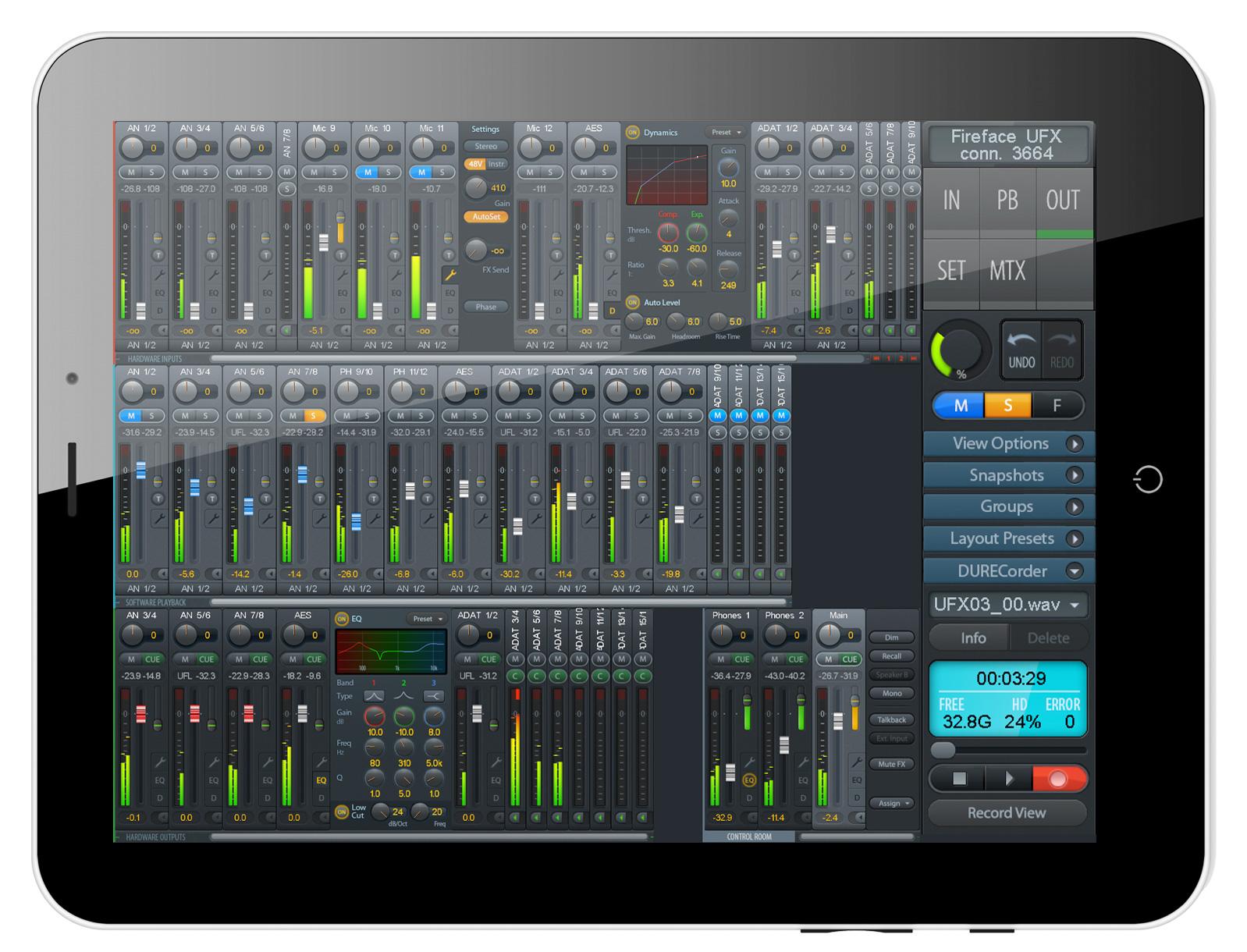 RME Totalmix FX – iPad App | Scan Pro Audio