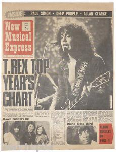 Bolan NME 1972