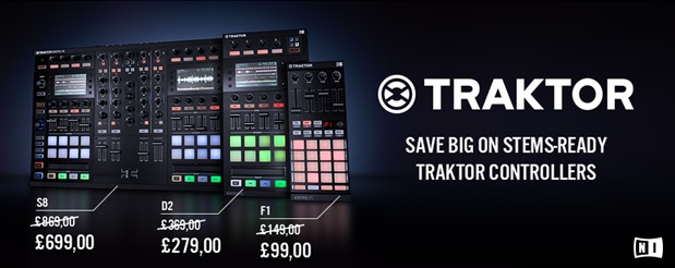 Traktor Stems Kontrol Offer