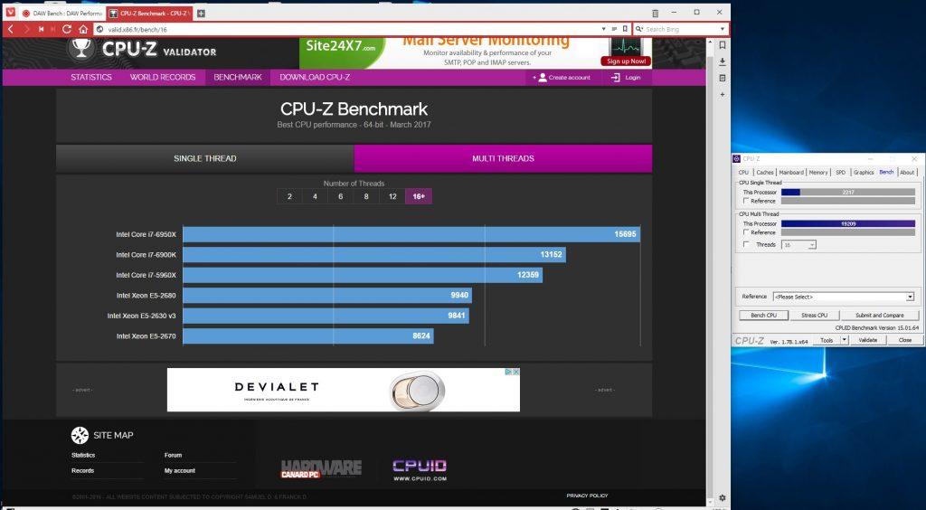 Ryzen 1700x CPU id results