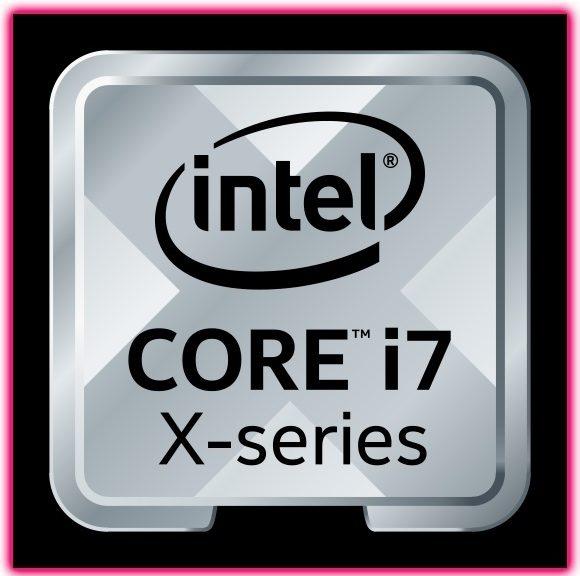 Intel i7 X logo