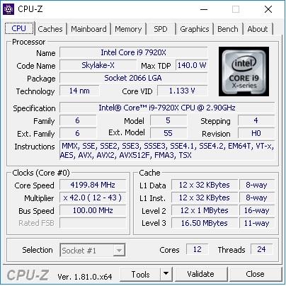 7920X CPUz