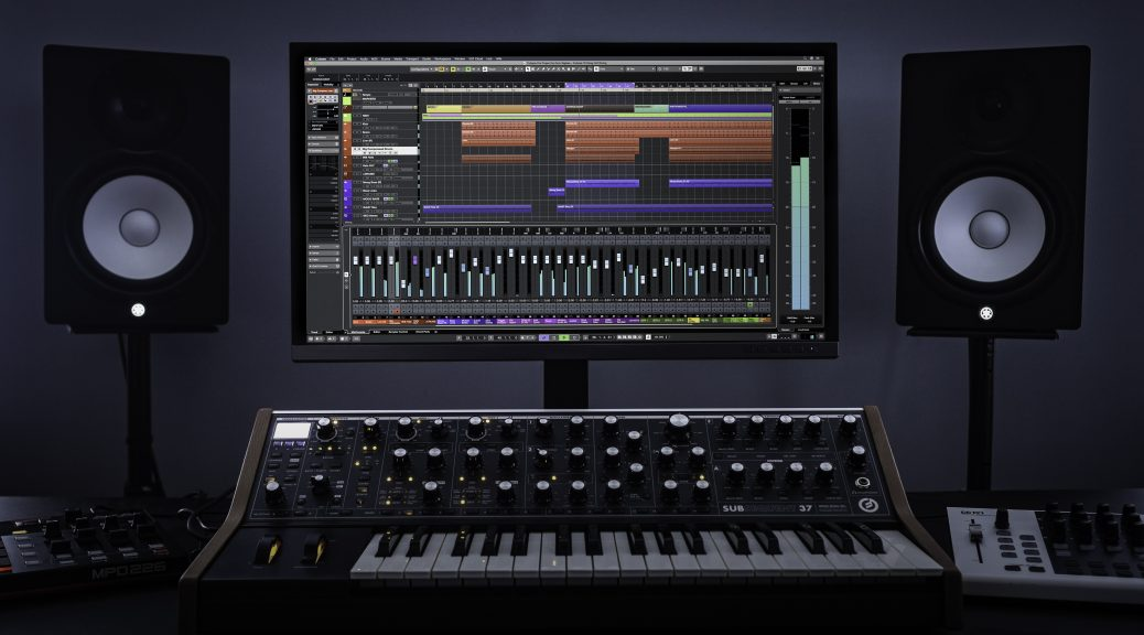 Cubase on system